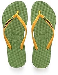 Havaianas Slim Brazilianasil Logo amazon-shoes beige Estate
