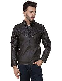 Derbenny High Quality Premium Brown Leather Jacket For Men
