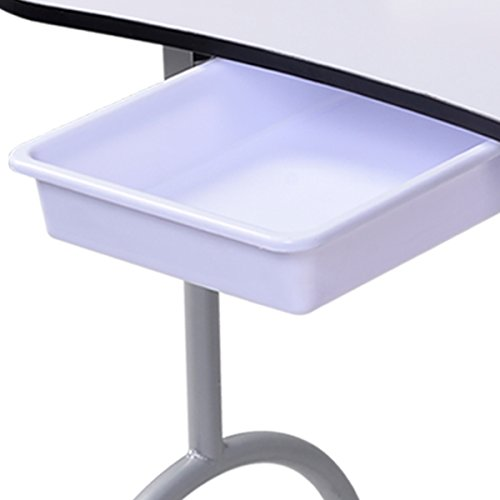 Tisch klappbar – Tragbarer Nageltisch mit Tasche und Handgelenkauflage - 6