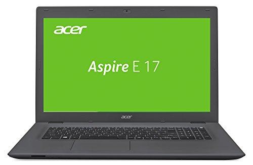 Acer Aspire E 17 (E5-752G-T2N0) 43,9 cm (17,3 Zoll Full HD) Notebook (AMD A10-8700P, 8GB RAM, 1000GB HDD, DVD, AMD Radeon R7 M360, Win 10 Home) schwarz