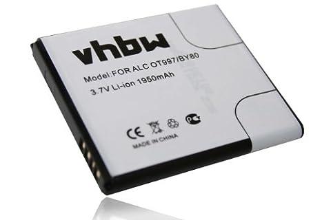 Alcatel Ot 997d - Batterie pr téléphone Alcatel OneTouch 997, 997D,