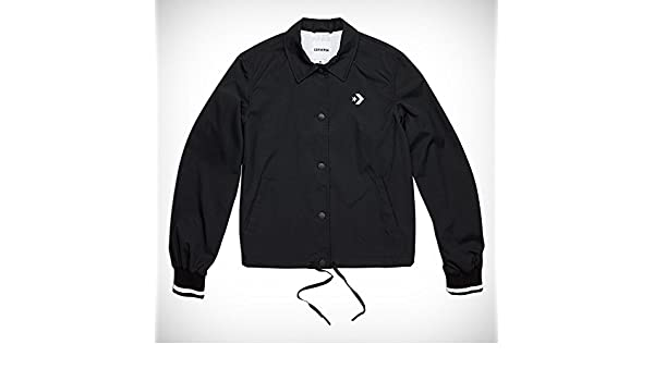 pretty nice b9cde 252ed Converse Street Sport Coaches Jacket - Women, Black Black  Amazon.co.uk   Sports   Outdoors