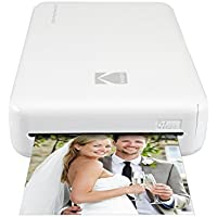 Kodak Instant Mini 2HD Wireless Photo Printer and Mobile with Patented 4pass Printing Technology–Works with iOS and Android–White