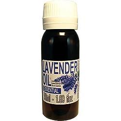 Aceite Esencial Natural de Lavanda 100% puro – Botella de 50ml - Grado Terapeútico.