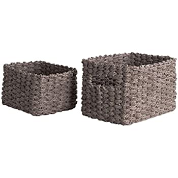 Compactor cestini di Tessuto Lisou Grey