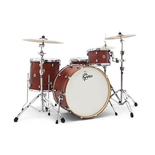 """Gretsch 24"""" Satin Walnut Glaze Drumset · Batería"""