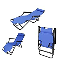 Foldable Beach Chair 153x60x35 [BCI-3655Blue]