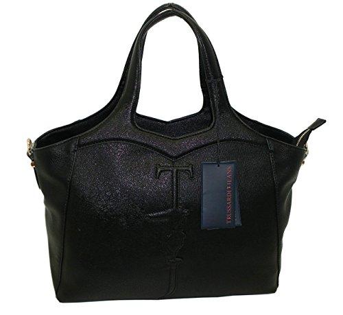 Borsa TRUSSARDI JEANS B180 handbag SHOPPING MARILLEVA TOTE NERO