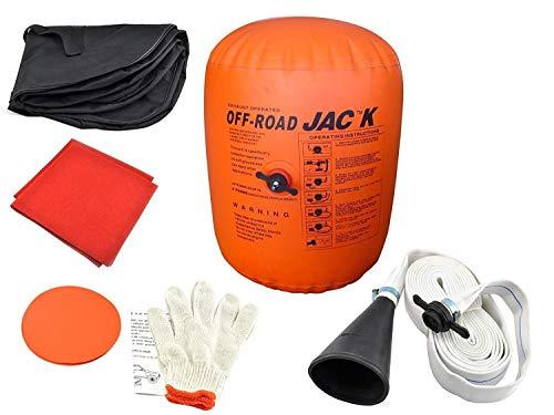 Vogvigo Coche hinchable Jack Inflable 4 toneladas Emisión y Bomba de doble uso