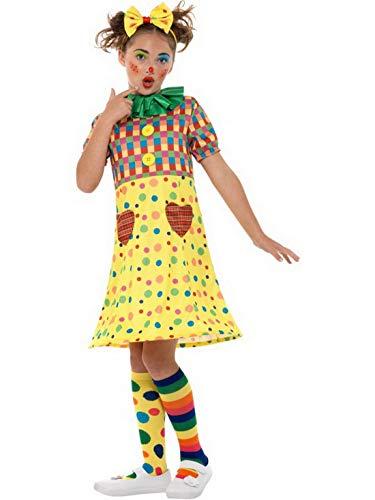 costumebakery - Mädchen Kinder Zirkus Clown Kostüm, mit -