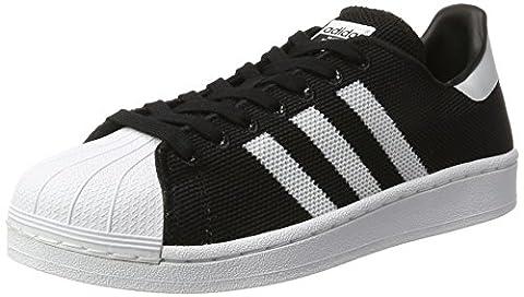 adidas Originals Superstar, Baskets Basses Mixte Adulte, Noir (Cblack/Ftwwht/Cblack), 44