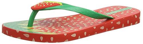 Ipanema Tutti Frutti, Sandales Plateforme fille Rouge - Red (Strawberry)