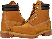 Timberland Men's 6 in Double Collar Boot Ankle, Wheat Nubuck,
