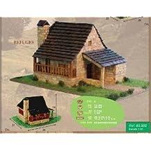 Maqueta de Piedra para Construir Refugio Montaña