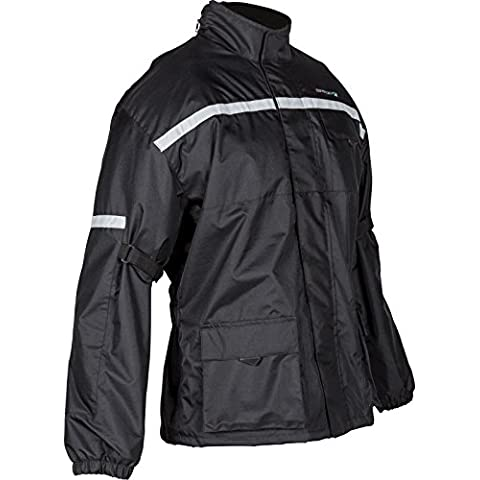 Spada Aqua Quilt Motorcycle Jacket 3XL Black