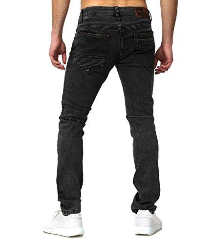 Tazzio - Jeans semi slim homme Jeans gris 509 - Gris Gris