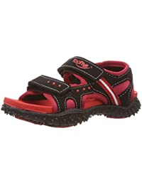 5436317cec3fb Footfun (from Liberty) Boys Habana Red Floaters and Sandals - 9 Kids UK