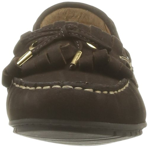 Sebago Meriden Kiltie, Mocassins femme Marron (Dark Brown)