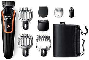 Philips Series 3000 8-in-1 Waterproof Mens Grooming Kit (All-in-one Beard, Hair and Body Trimmer)