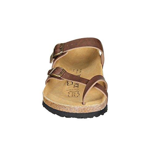 JOE n JOYCE Milano Synsoft. La sandale confort selon la devise: faisons plus avec moins! brown