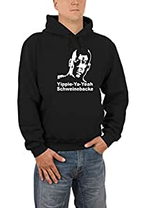 Yippie Ya Yeah Bruce Willis Sweatshirt S-XXXL Various Colours (German Import) black Size:S