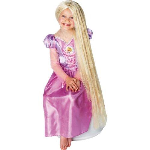 Kinder Perücke Rapunzel (Leuchtet im ()