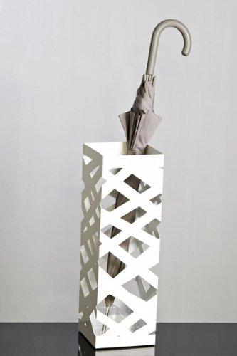 Portaombrelli 'Mikado', 48cm, Bianco