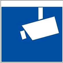H.Klar Schild Alu Videoüberwachung nach DIN 33450 150x150mm