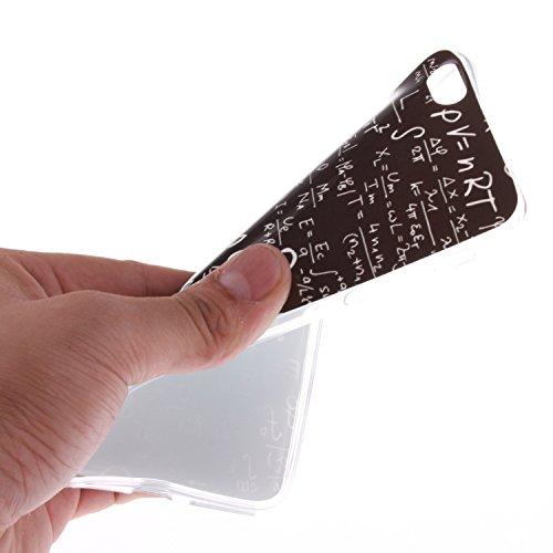 """Apple iPhone 6 Plus 5.5 hülle MCHSHOP Ultra Slim Skin Gel TPU hülle weiche Silicone Silikon Schutzhülle Case für iPhone 6 Plus (5.5"""") - 1 Kostenlose Stylus (Feder und Flying Birds (Feather and Flying  Das Gesetz der Schwerkraft (The law of gravity)"""
