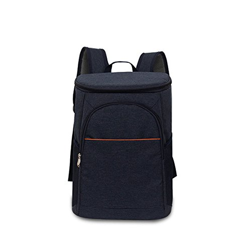 Warooma Isolierter Kühl-Rucksack, auslaufsicher, weiche Kühltasche, leicht, Schulter-Rucksack für Männer und Frauen zur Arbeit, Schule, Picknicks, Wandern, Camping, Strand, Park oder Tagesausflüge
