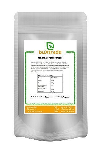100 g Johannisbrotkernmehl E 410 Verdickungsmittel Stabilisator Geliermittel