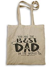 El mejor papá del mundo el día del padre nuevo bolso de mano b658r