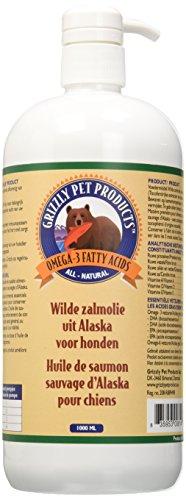 Grizzly L'Huilede Saumon Sauvage d'Alaska 1000 ml