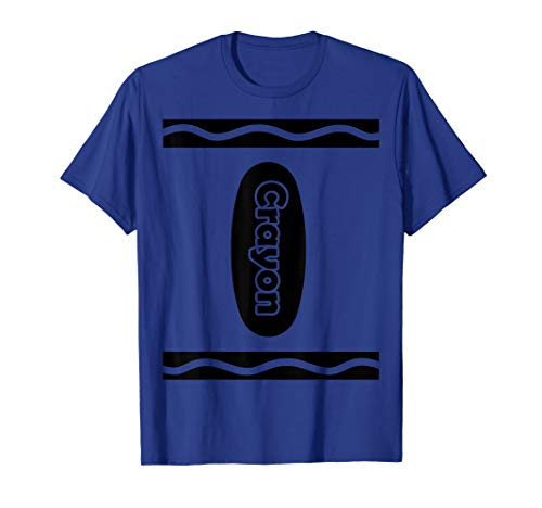 Wachsmalstifte Kostüm T-Shirt Crayon Kreidestifte