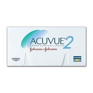 Acuvue 2 Wochenlinsen weich, 6 Stück / BC 8.3 mm / DIA 14.0