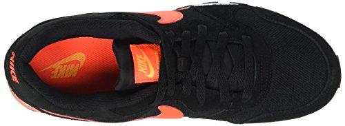 Nike Herren Md Runner 2 Laufschuhe Schwarz (SchwarTotal Crimson/Laser Orange/Weiß)