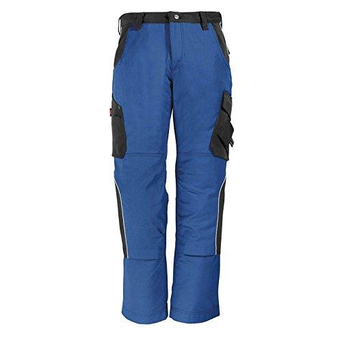 FHB Premium Bundhose Twill 300, 1 Stück, 52, royalblau / schwarz, 35-130430-3620-52