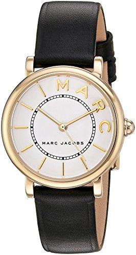 MARC JACOBS Japanischer Quarz Braun Kalbsleder Damen Uhren MJ1537