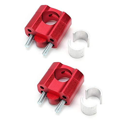 Elevadores manillar - 1 par abrazaderas barra 22 mm