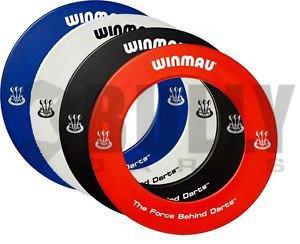 Winmau Deluxe Cible de fléchettes Surround, noir