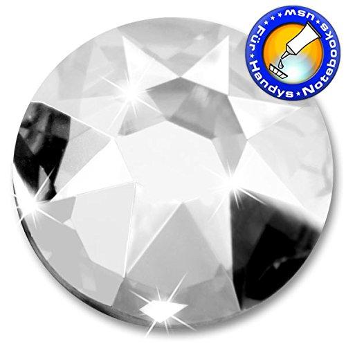 10 Stück SWAROVSKI ELEMENTS 2088 XIRIUS, KEIN Hotfix, Crystal, SS40 (Ø ca. 8,4 mm), Strasssteine zum Aufkleben
