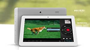 Ployer Momo20s - 10.1 Inch Quad Core Android 4.1.1 (Jelly Bean), IPS SCREEN - 1280 x 800 Resolution; WIFI; QUAD CORE - 4 X CORTEX A7 (4 x 1.2GHz); 8 X PowerVR GPUs; 10 Point Touch Screen, 16GB Storage, 1GB DDR3 Memory, HDMI & 3D Output - New Google Play Installed - Dual Camera 1.3MP Front & 2.0MP Rear Camera's - Flash 11.1 Pre-Installed - All iPlayers and Flash Content Compatible