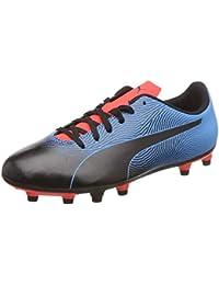 ae4f856abf0 Puma Men s Spirit II FG Black-Bleu Azur-Red Blast Football Boots-7
