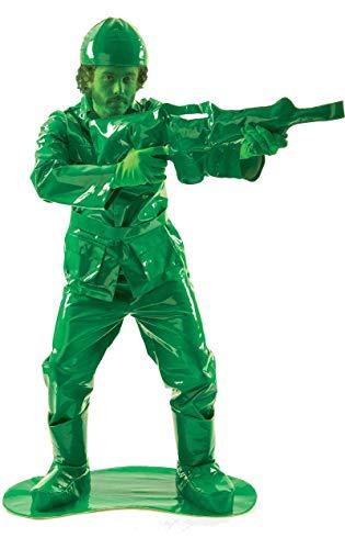 Disfraz de soldado verde