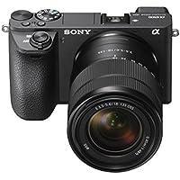 Sony Alpha ILCE6500MB.CEC fotocamere compatte con SEL18135F3.5–5.6Oss Lens–nero