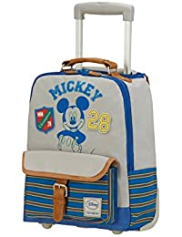 Disney Stylies Mickey Equipaje Infantil, 11 Litros, Multicolor