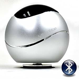 Vibe-Tribe Orbit - Silver: 15 Watt Bluetooth Vibration Speaker, vivavoce, suction base integrata