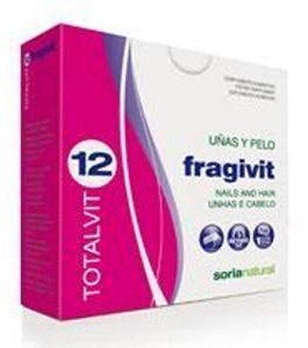 Soria Natural Totalvit 12 Fragivit Combinación de Multivitaminas y Minerales - 28 Tabletas