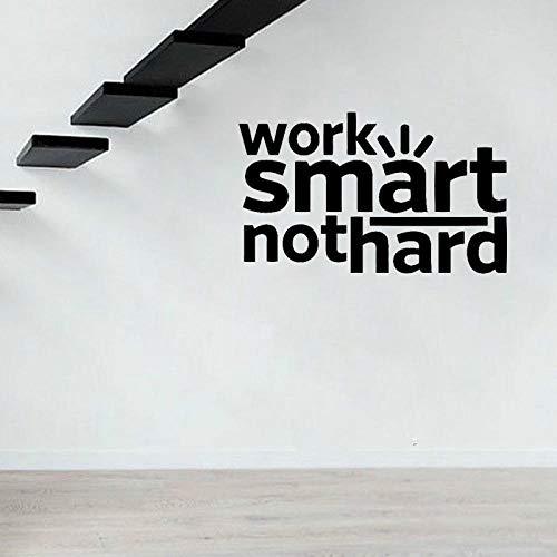 Wandaufkleber Arbeiten Sie Intelligentes Nicht Hartes Hauptdekor-Wand-Aufkleber Pvc-Kunst-Büro-Anführungsstriche 65Cm * 39.2Cm