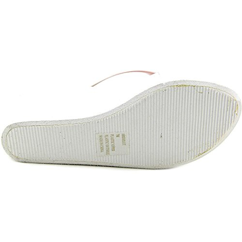 Steve Madden Abssolut Offener Spitze Keilabsätze Sandale White